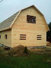Строим Дома/Бани из бруса. Быстро качественно100%. Добруш - foto 3