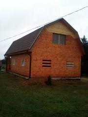 Дома/Бани из бруса профессиональное строительство. Петриков - foto 0