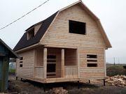 Построим Дом/Баню из бруса по индивидуальн.проекту. Хойники