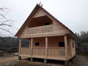 Построим Дом/Баню из бруса по индивидуальн.проекту. Хойники - foto 0