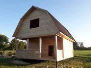 Строительство Домов/Бань из бруса. Срубы недорого. Ельск
