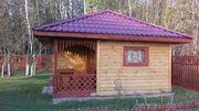 Строительство Домов/Бань из бруса. Срубы недорого. Ельск - foto 1