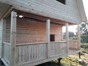 Строительство Домов/Бань из бруса. Срубы недорого. Ельск - foto 5