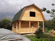 Строительство Домов/Бань из бруса. Срубы недорого. Ельск - foto 6