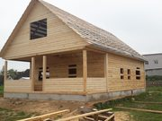 Строим Дома и бани из бруса. Рассрочка 6 месяцев. Гомель - foto 0