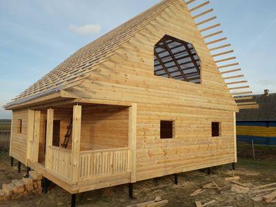 Строим Дома/Бани из бруса. Быстро качественно100%. Добруш - main