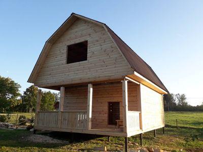 Строительство Домов/Бань из бруса. Срубы недорого. Ельск - main