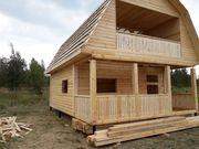 Дом сруб из бруса проект Беседь 6х6 м - foto 0