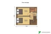 Каркасный Дом под ключ 7.2х8.1 м проект Оттава - foto 0