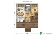 Каркасный Дом под ключ 7.2х8.1 м проект Оттава - foto 1
