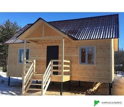 Каркасный Дом под ключ 7.5х9 м проект Калгари - main