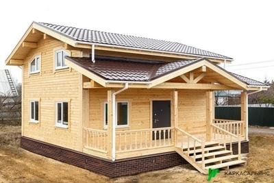 Каркасный Дом под ключ 7.2х8.1 м проект Оттава - main