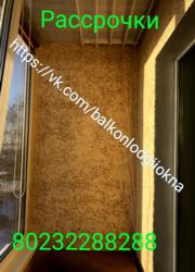 Обшивка балконов ,  лоджий в Гомеле и районе ,  есть рассрочки .  - foto 11