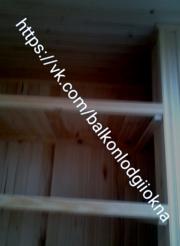 Обшивка балконов ,  лоджий в Гомеле и районе ,  есть рассрочки .  - foto 14