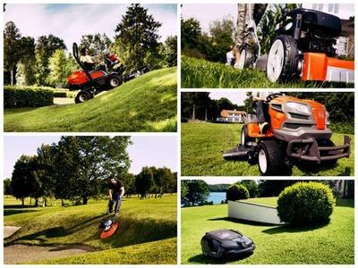 Покос травы и работы на участке,  ландшафтный дизайн - main